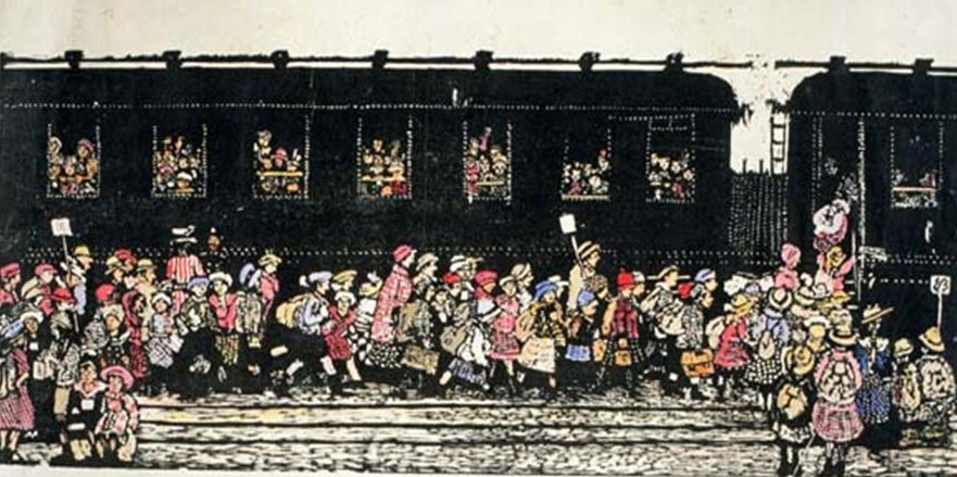 Bambini Vienna treni